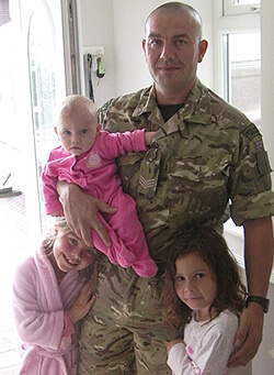 Barry Weston, Royal Marines
