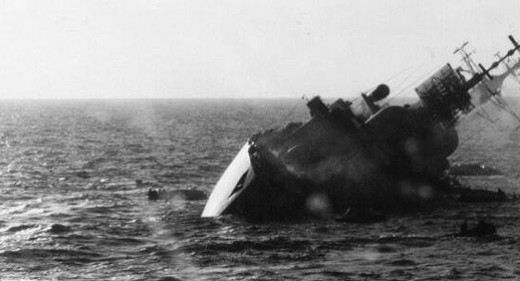HMS coventry, sinking May 1982