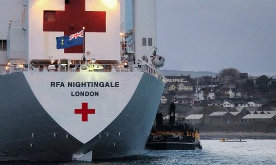 RFA Nightingale - British hospital ship