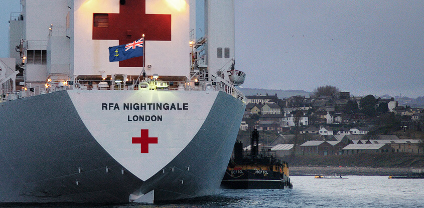 RFA Nightingale - British hospital ship