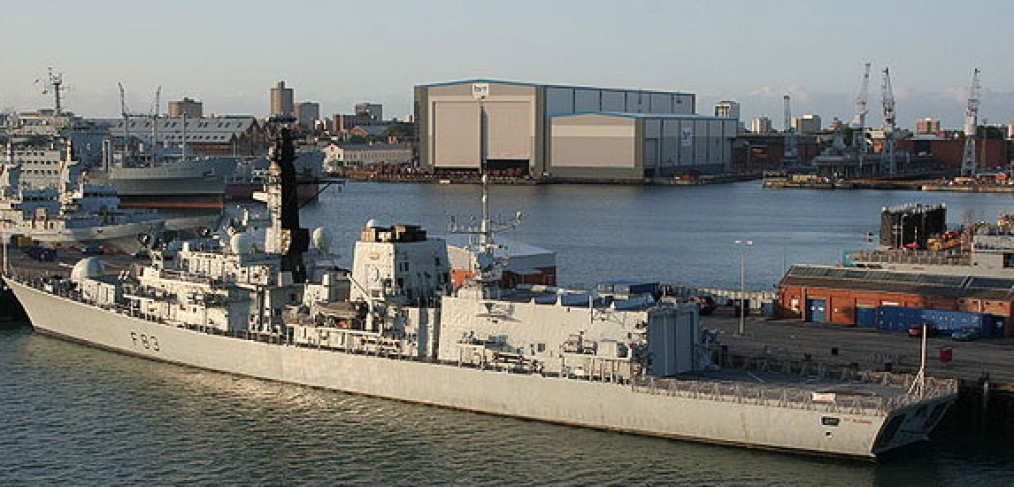 BAE Portsmouth Yard