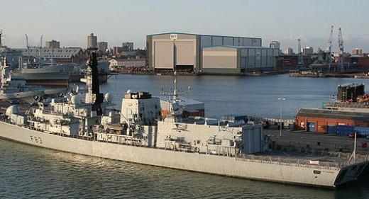 BAE Portsmouth Yard