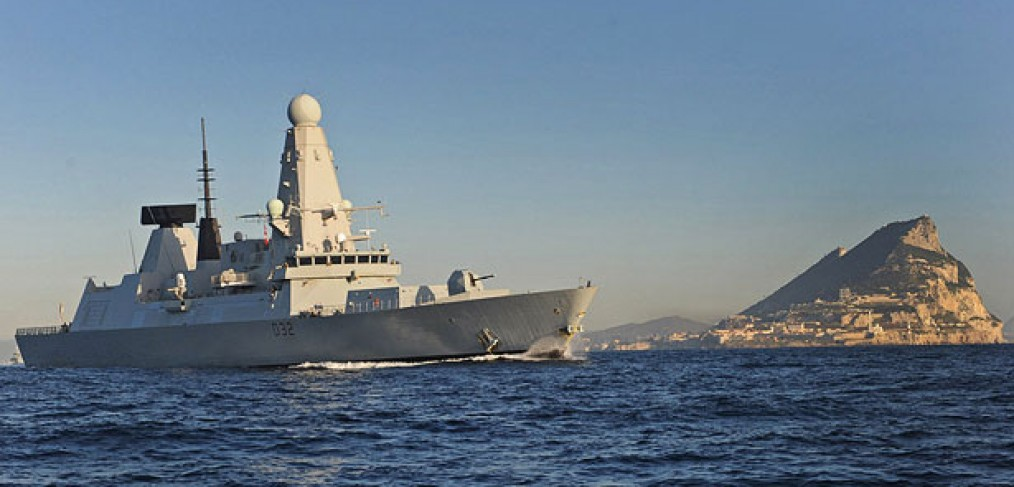 HMS Diamond, Gibraltar