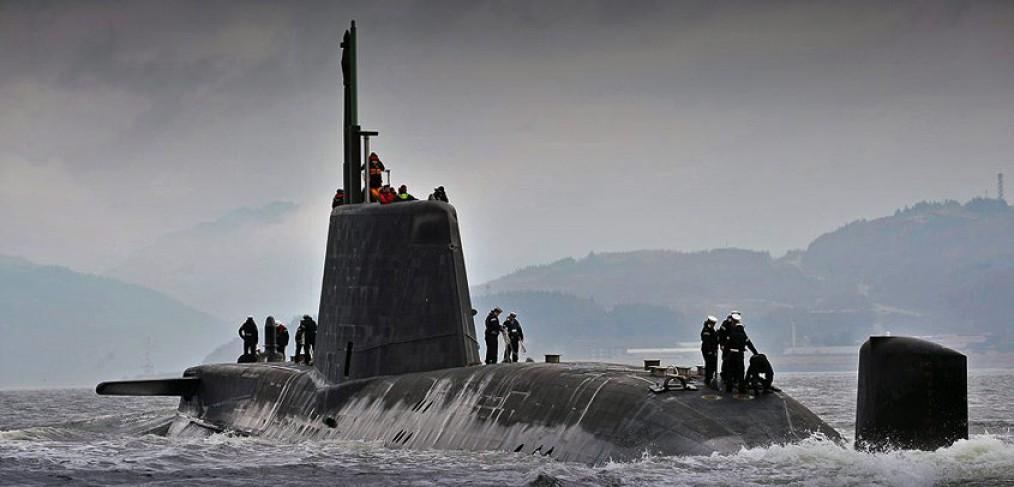 HMS Astute Royal Navy Submarine