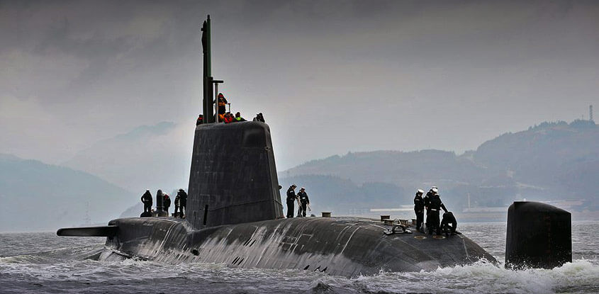 HMS Astute Royal Navy Submarine