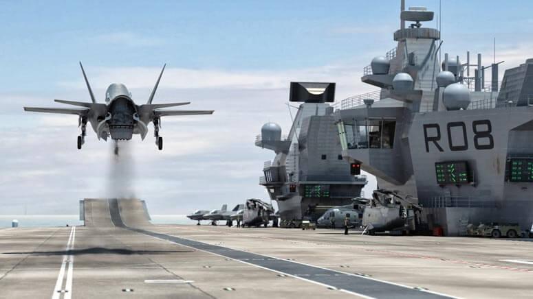 f35 B lands on