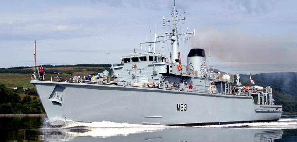 HMS Brocklesby, Minehunter