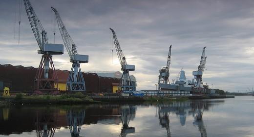 Govan shipbuilding yard