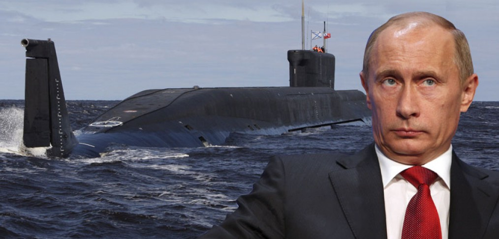 Putin and submarine