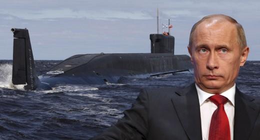 Putin and submarine