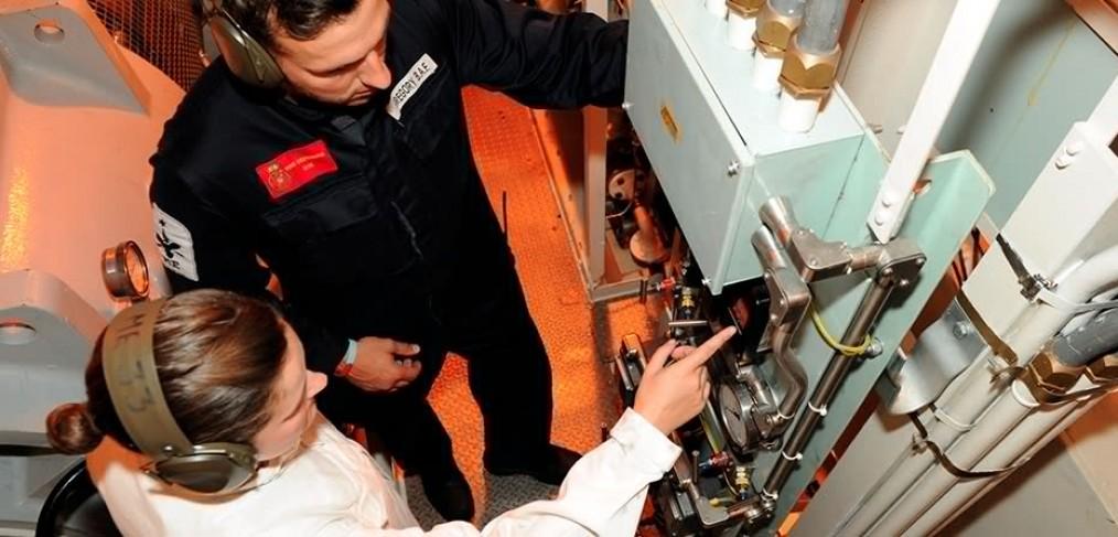 Marine engineers