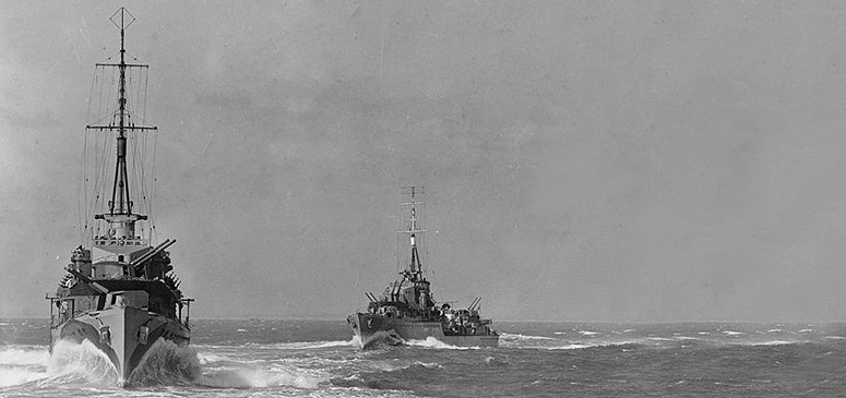 Royal Navy WWII Destroyers