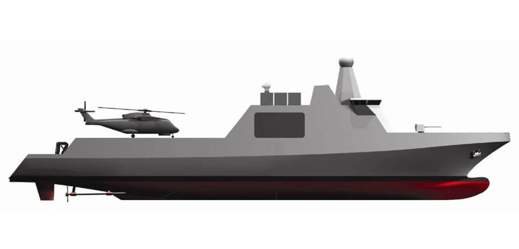 Black Swan Corvette concept