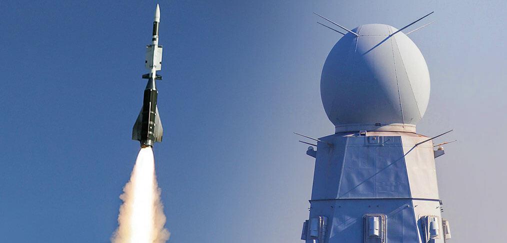 MBDA Aaster-30 Missile Sampson Radar