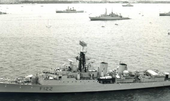 Fleet Review - warships