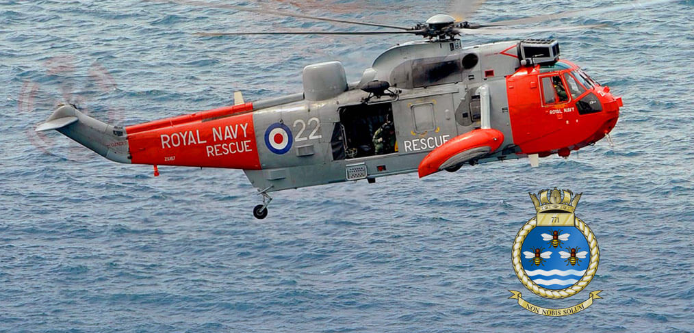 Goodbye 771 Naval Air Squadron  UK Search Amp Rescue Helicopter Service Go