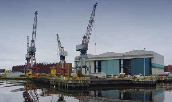 BAE Systems Shipyard, Govan Glasgow