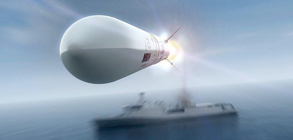 Sea Ceptor point defence missile