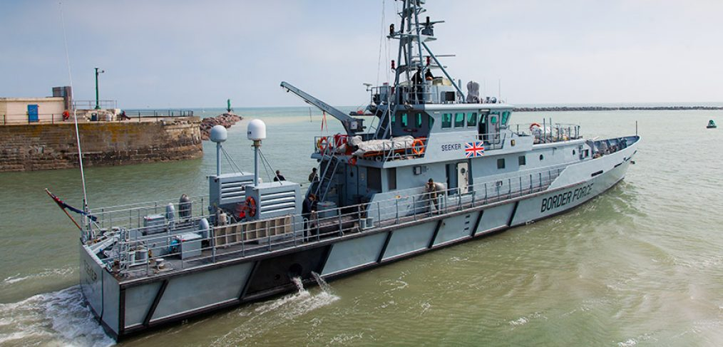 UK Border ForceCutter