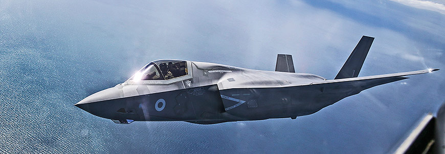 F35-B in UK Airspace