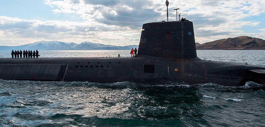 Trident Submarine scotland