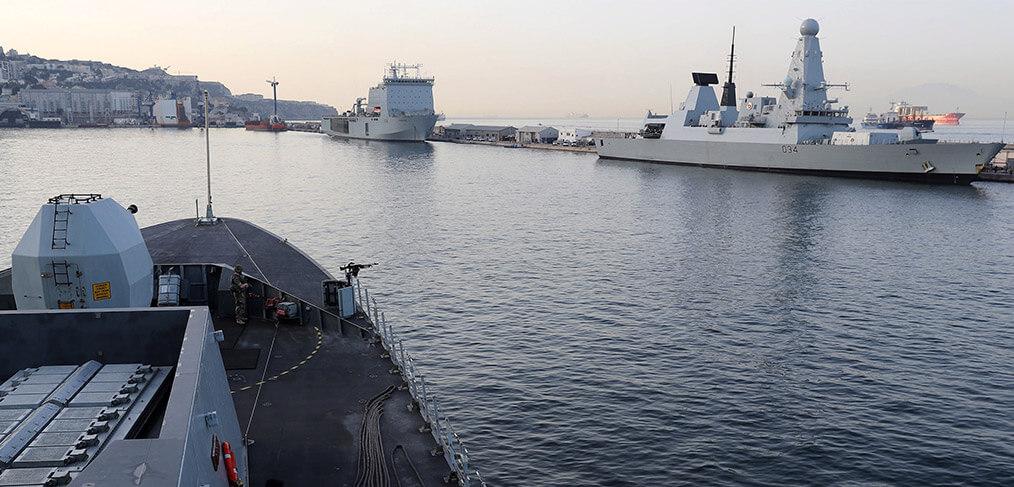 Type 45 Destroyer Gibraltar