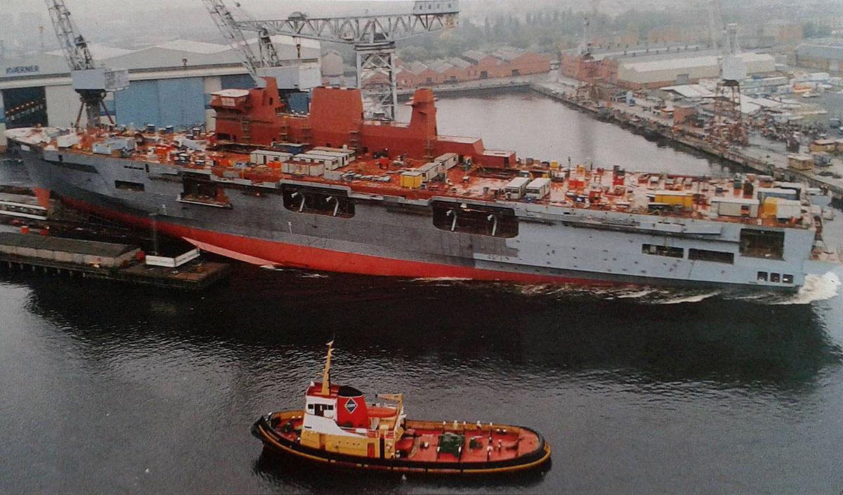 HMS Ocean Launch