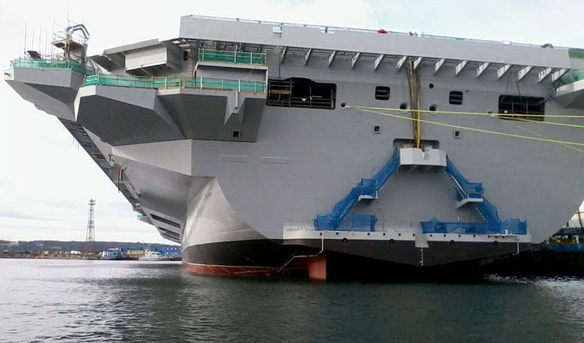 Why your aircraft carrier should not moonlight as your helicopter companionways down to a waterline boarding platform at the stern of the qe class offer the possibility of troops boarding landing craft or mexflote directly baanklon Gallery