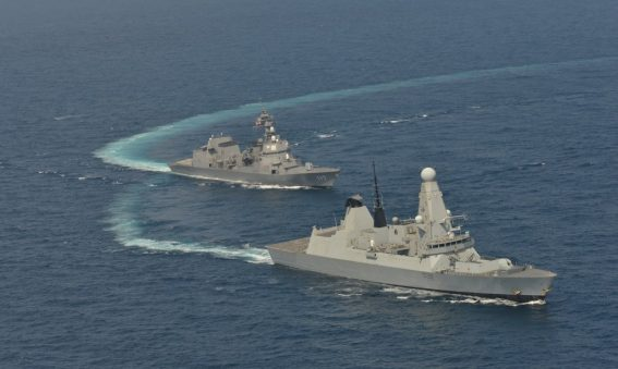 HMS Daring Gulf