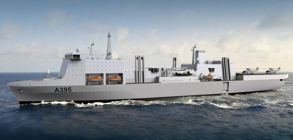 Solid Stores Support Ship