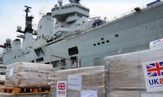 HMS Illustrious Philipines