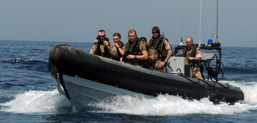 Royal Marines Boarding Party