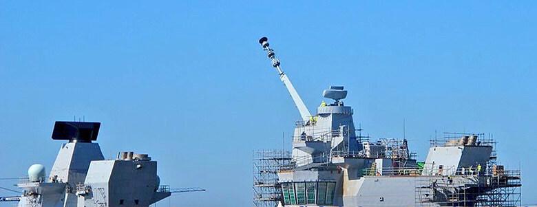 HMS Queen Elizabeth Mast Pivot