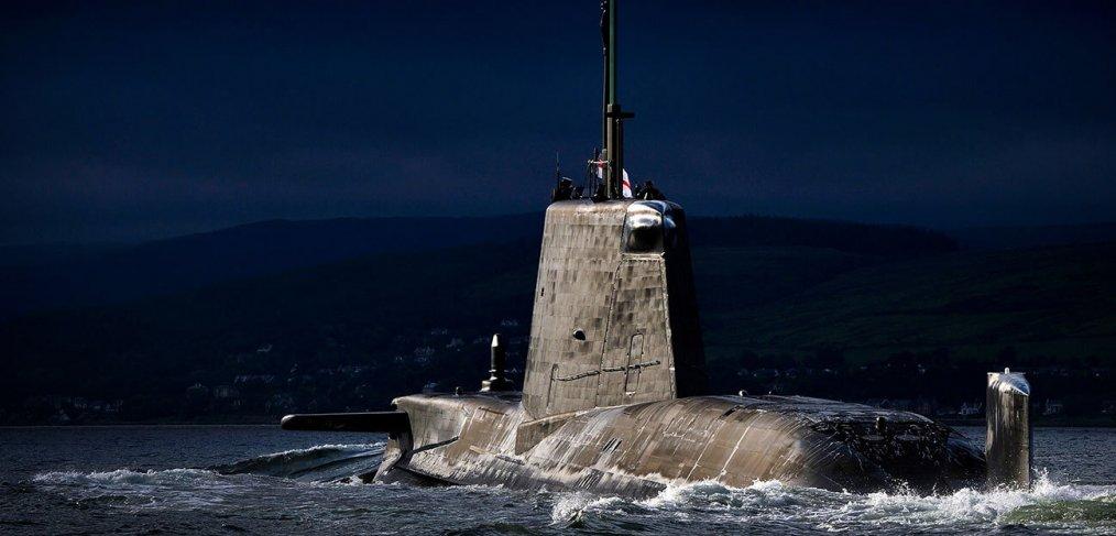 Astute Class submarine Faslane