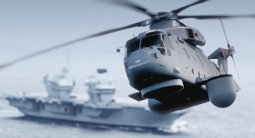 Crowsnest Merlin Helicopter Aircraft Carriers