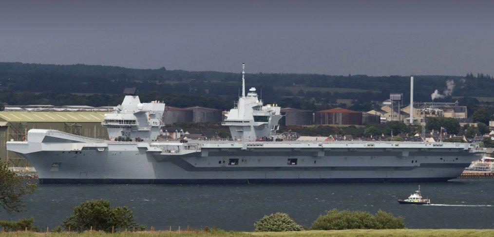 HMS Queen Elizabeth Invergordon
