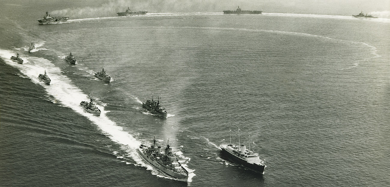 Royal Navy Home Fleet 1957