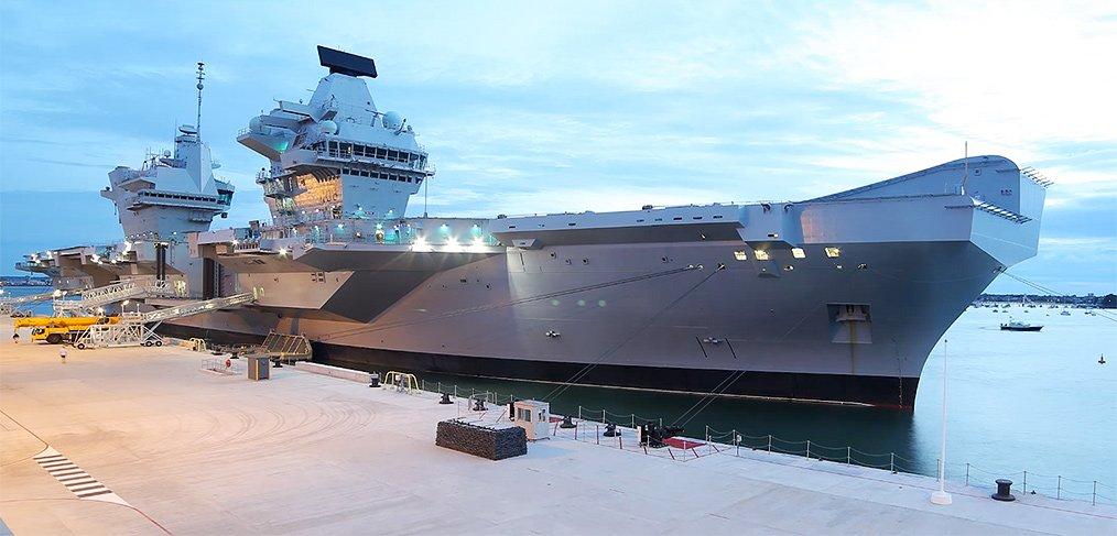 HMS Queen Elizabeth Portsmouth