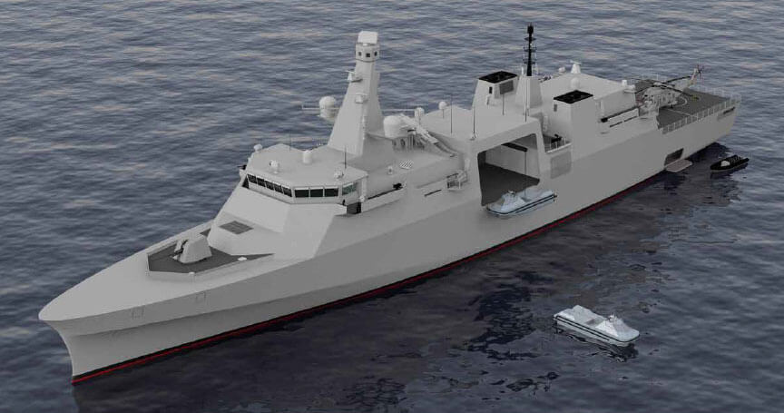 Babcock announces 'Arrowhead' – another option for the Type 31