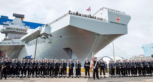 HMS Prince of Wales named