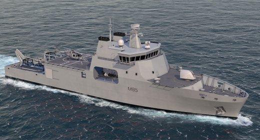 Venari 85 BMT Mine warfare vessels