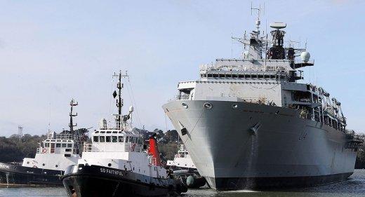 HMS Albion in Devonport