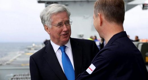 Michael Fallon Resigns