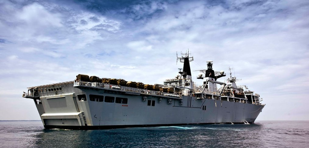 HMS Bulwark: Christmas road test | Autocar