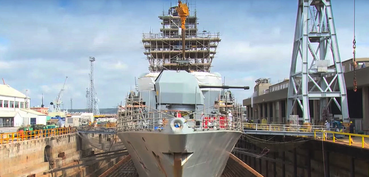 HMS Westminster refit portsmouth