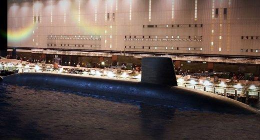 Dreadnought class submarine Faslane