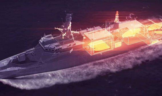 Babcock Arrowhead concept for Type 31e frigate