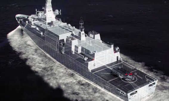Type 31e frigate Arrowhead concept