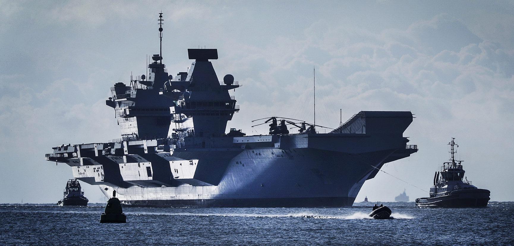 HMS Trenchant in Arctic