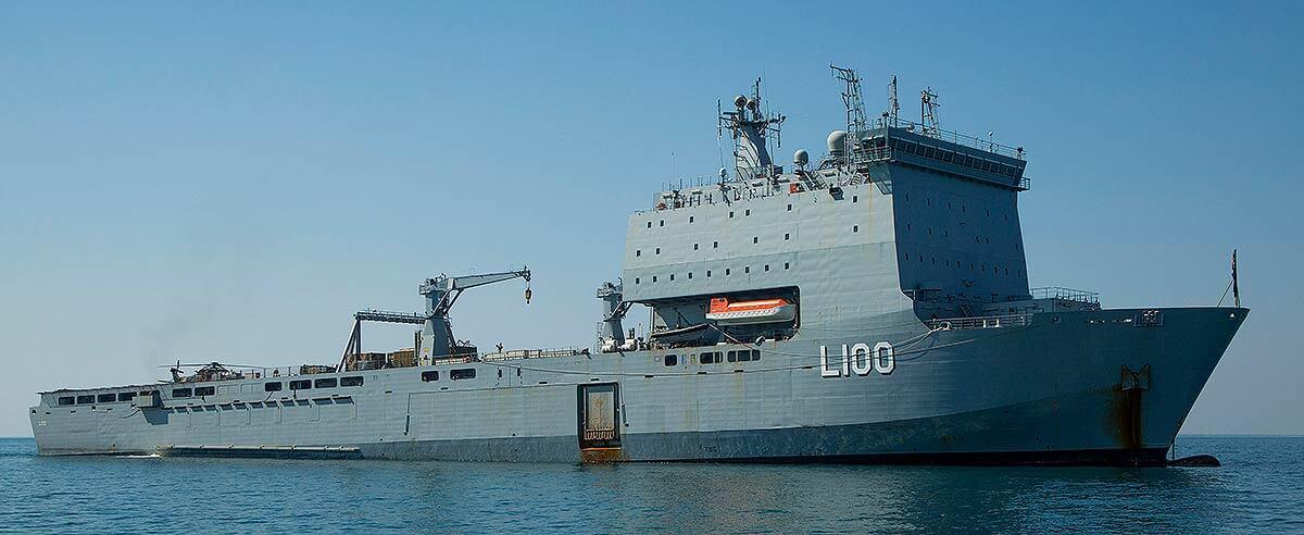 Sailing under a different flag – former Royal Navy vessels